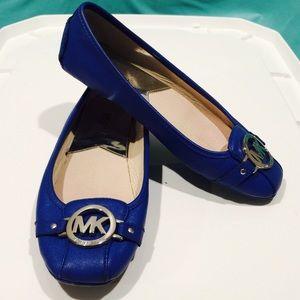 Michael Kors Blue Flats